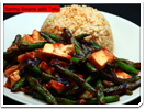 Green Beans with Tofu